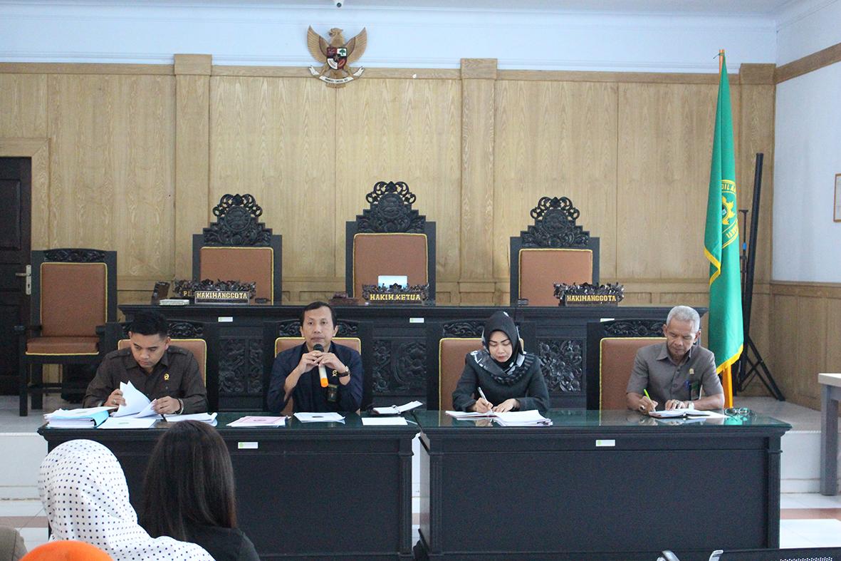 Rapat Bulanan Pengadilan Negeri Sengeti kelas II dan Perjanjian Kerja Pelayanan Terpadu Satu Pintu